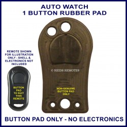 Auto Watch remote replacement BUTTON PAD ONLY