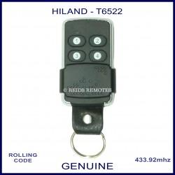Hiland T6522 - 4 button black rolling code remote control