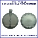 ATA PTX-2V2 grey button garage remote replacement shell only