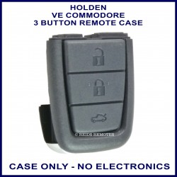 Holden VE Commodore 3 button flip or fixed blade key remote case replacement
