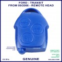 Ford Transit 3 button blue key remote part only