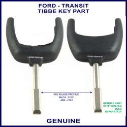 Ford car key for BA Falcon Mondeo Transit Focus Territory & other models