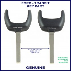 Ford Transit remote key - key part Silca HU101 or JMA FO-24 profile