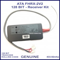 ATA FHRX-2V2 TrioCode 128 bit receiver is compatible with all of these remote controls