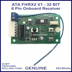 ATA FHRX2 V1 TrioCode 32 bit 2 channel 6 pin on board receiver 62850