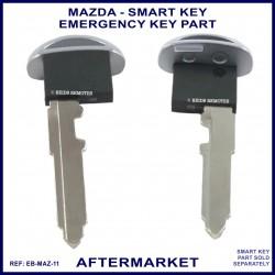 Mazda emergency key for smart remote key - aftermarket