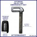 Hyundai emergency key blade for smart remote proximity key HY19D