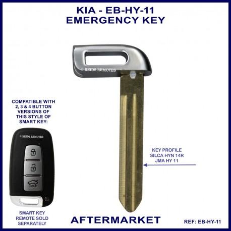 KIA emergency key blade for smart remote proximity key HY11