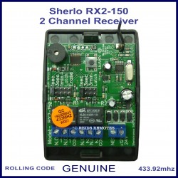 Sherlo RX2 - 150 2 channel 150m range code hopping receiver unit