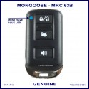 Mongoose M60 Series N4096 Z333 3 button car alarm remote control MRC63B