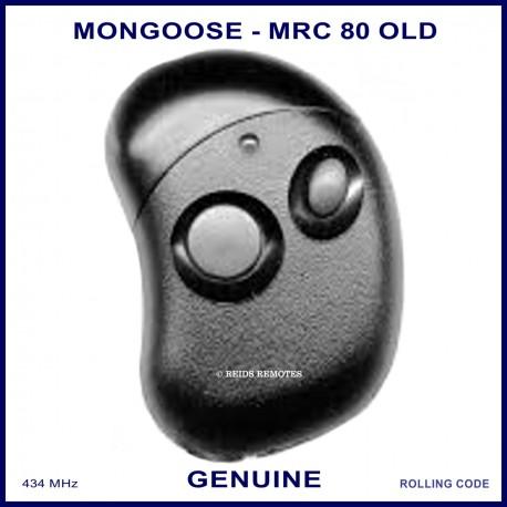 Mongoose MX750 Series 2 button car alarm remote control