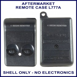 Aftermarket 2 button remote case to fit FCC ID ending in 777