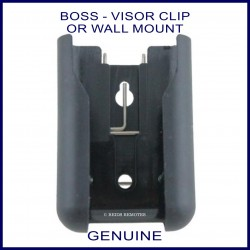 Boss Guardian Steel-Line remote sun visor or wall mount clip - remote holder