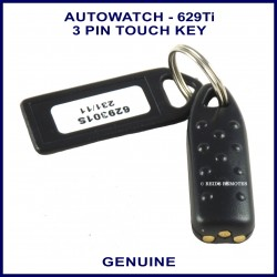 Auto watch 629 Ti Immobiliser touch key - 629-301 - 3 pin tag