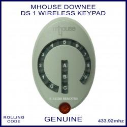 Downee DS1 genuine 13 key grey wireless keypad gate remote control