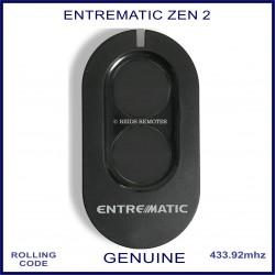 Entrematic Zen 2 Ditec genuine swing & sliding gate remote control